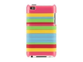 Griffin Snappy Stripes for iPod 5G, Pink, GB03464, 13290220, Carrying Cases - iPod
