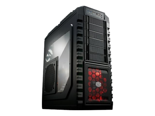 Cooler Master HAF X Full Tower Gaming Case, mATX ATX, RC-942-KKN1, 11674617, Cases - Systems/Servers