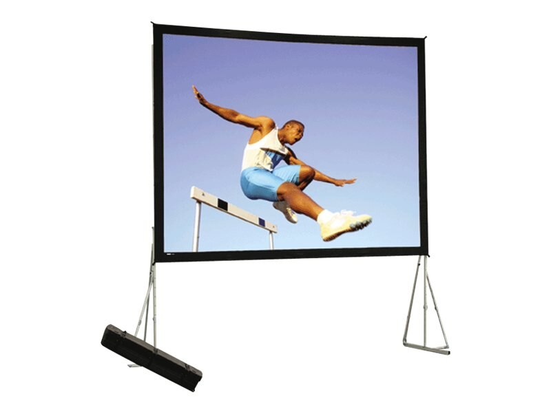Da-Lite Heavy Duty Fast-Fold Deluxe Projection Screen, 3D Virtual Black, 16:10, 16' x 27.5', 36032, 12639899, Projector Screens