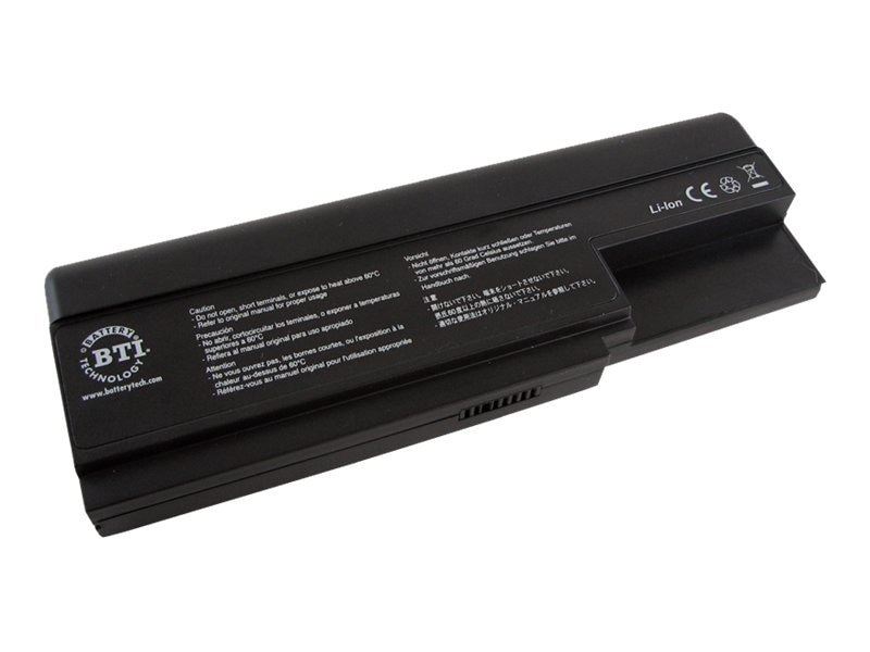 BTI Battery, Lithium-Ion, 14.8 Volts, 4500mAh, for W200, W235 (BLACK), WN-W200, 8222038, Batteries - Notebook