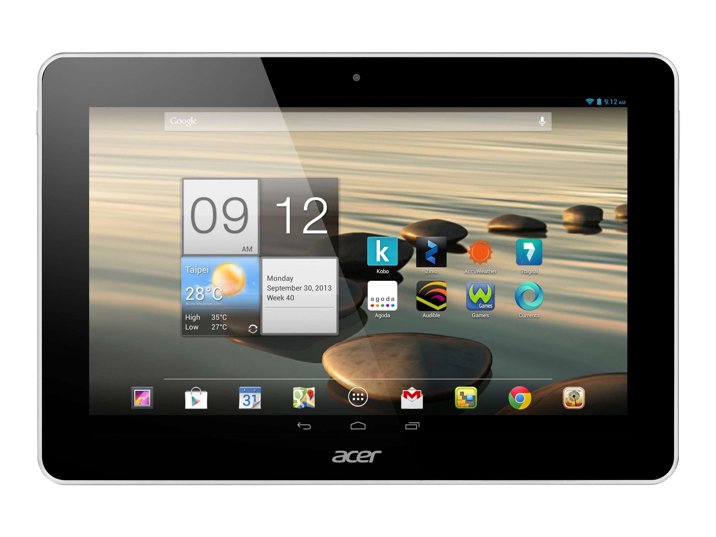 Acer Iconia A3-A10-879 2GB 26 10.1 White, NT.L2YAA.002, 16843176, Tablets