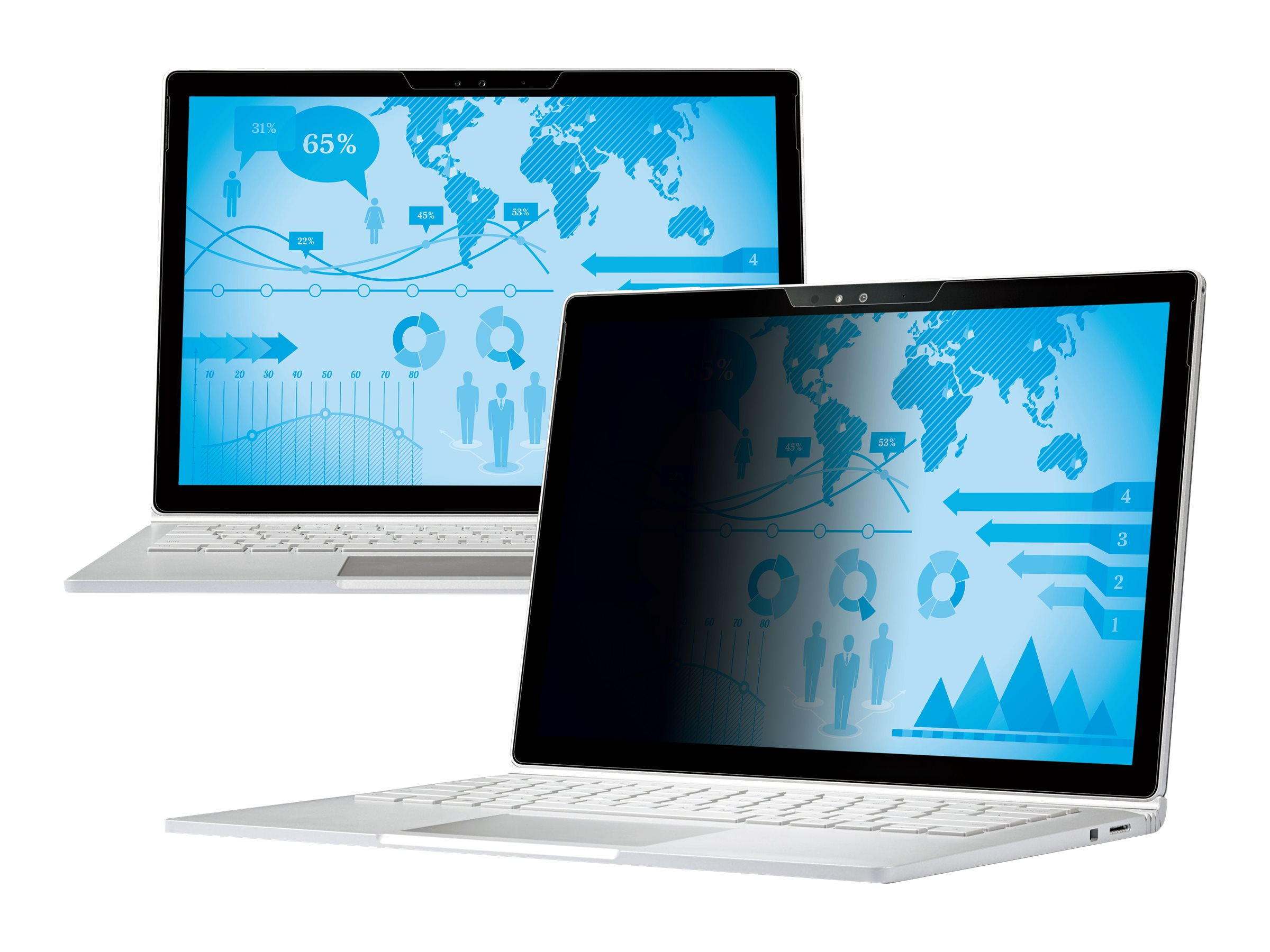 3M Privacy Filter for Microsoft Surface Book, Landscape, PFNMS001, 31239911, Glare Filters & Privacy Screens