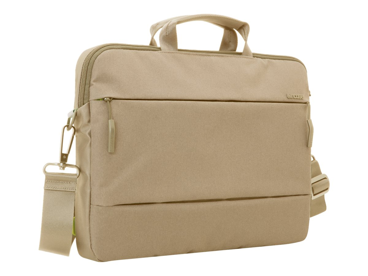 Incipio Incase City Collection Brief Bag for 13 MacBook Pro, Dark Khaki