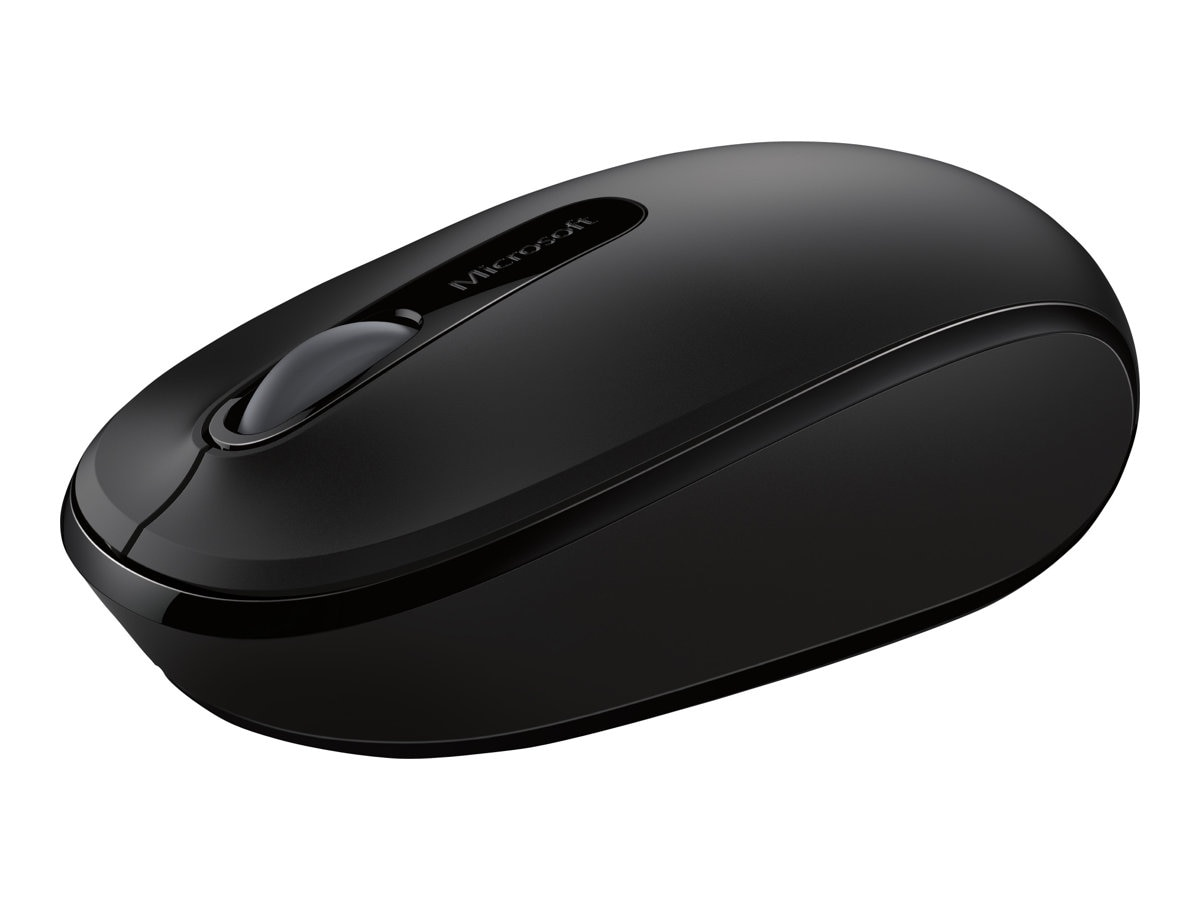 Microsoft Wireless Mobile Mouse 1850 for Business, Black, 7MM-00001