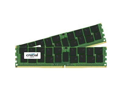 Crucial 32GB PC4-17000 288-pin DDR4 SDRAM DIMM Kit, CT2K16G4RFD4213, 17854475, Memory