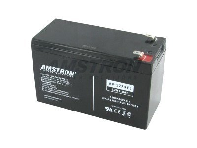 Amstron Power AGM SLA 12V 7Ah VRLA Rechargeable Battery