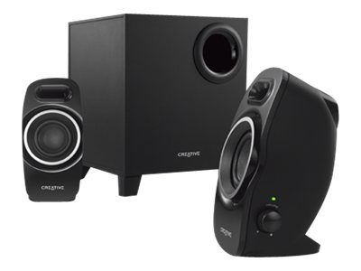 Creative Labs A250 2.1 Speaker System, 51MF0420AA002, 15913849, Speakers - Audio