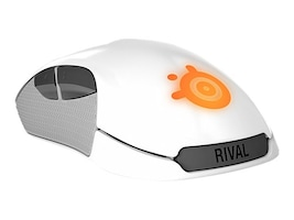 Steelseries Rival 100 Mouse, White, 62354, 30761290, Mice & Cursor Control Devices
