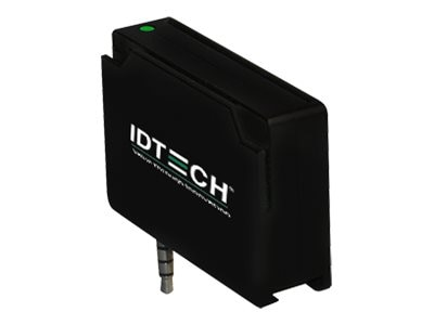 ID Tech Unipay MSR Track 3 Smart Card Reader, Black (Kits Only), IDMR-AJ80133