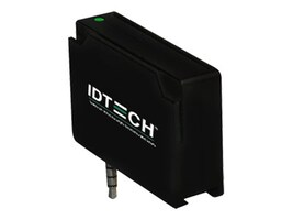 ID Tech Unipay MSR Track 3 Smart Card Reader, Black (Kits Only), IDMR-AJ80133, 18315211, Magnetic Stripe/MICR Readers
