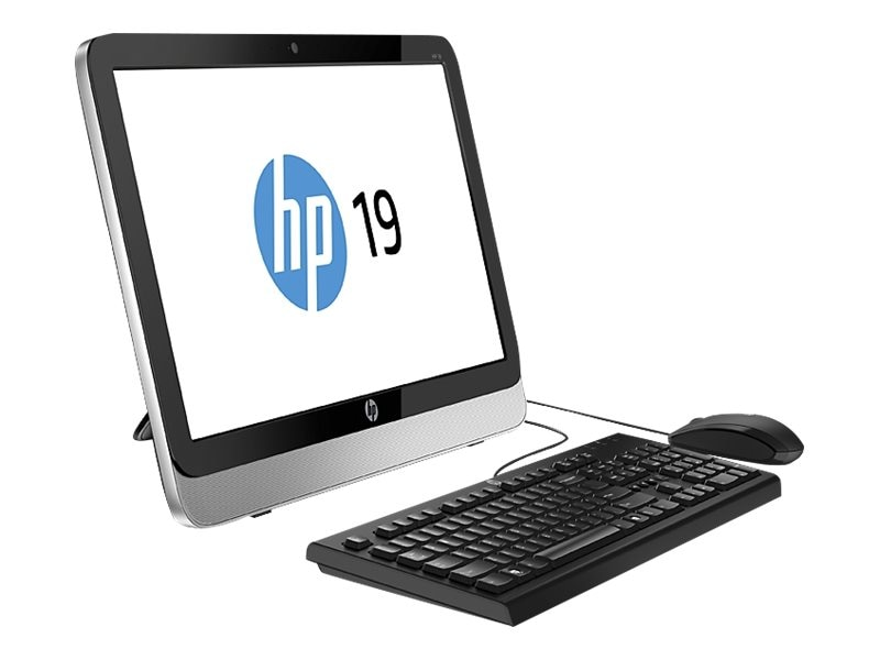 HP E1-6010 AIO Desktop 4GB 1TB DVD-RW WL 19 W10, N0A44AA#ABA, 31388378, Desktops - All-in-One