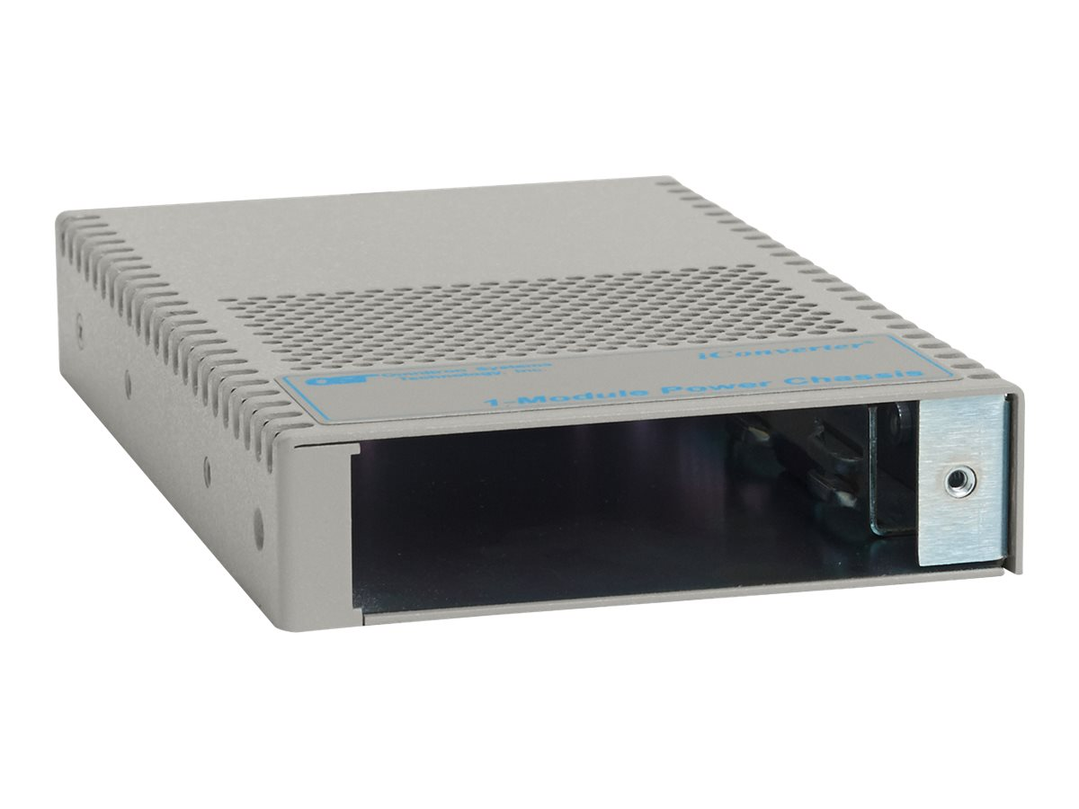 Omnitron iConverter 1-Module Chassis Power 48VDC 8.3W IND TEMP, 8242-9-Z, 14650080, Network Transceivers
