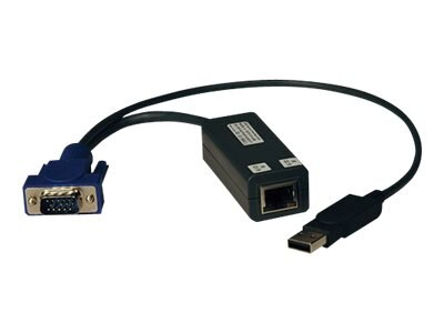 Tripp Lite NetCommander USB Server Interface Unit (SIU), 8-Pack, B078-101-USB-8, 17529040, KVM Displays & Accessories