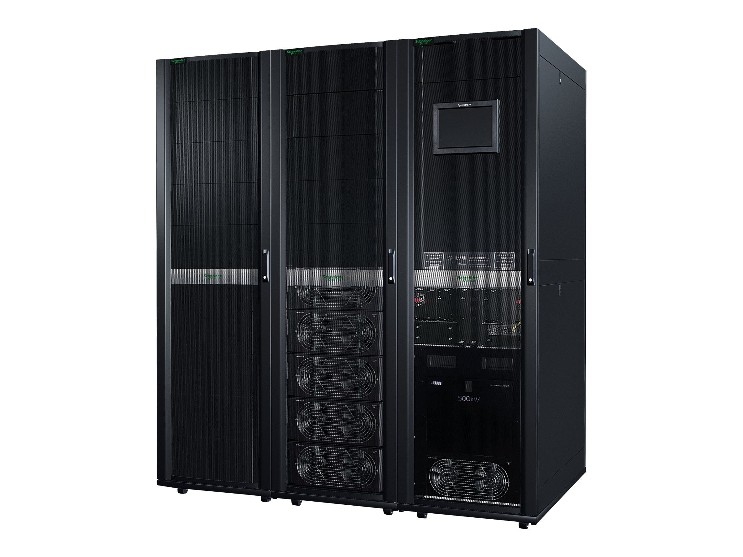 APC Symmetra PX 125kW, Scalable to 500kW, without Bypass, Distribution or Batteries, Parallel Capable, SY125K500D-NB, 14040775, Battery Backup/UPS