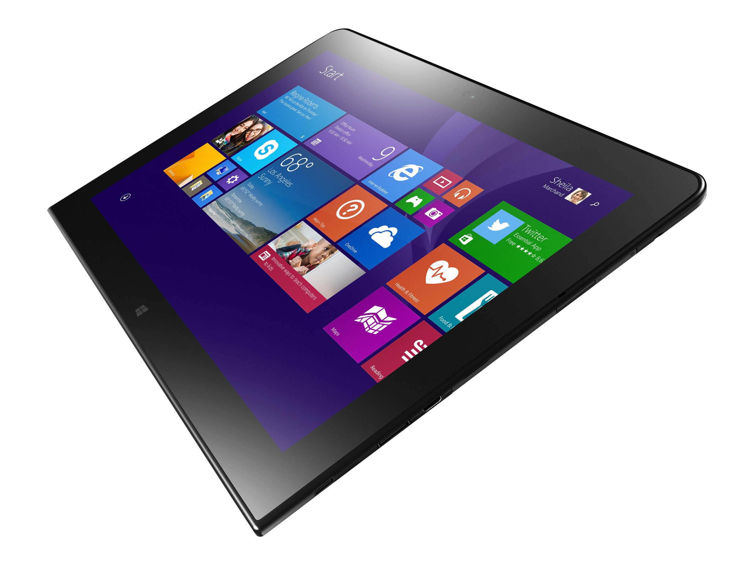 Lenovo TopSeller ThinkPad 10 1.6GHz processor Windows 8.1 Small Screen Touch (SST)
