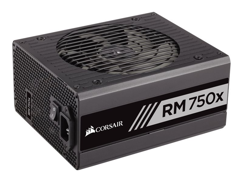 Corsair RM750x 750W 80 PLUS Gold Certified Fully Modular Power Supply Unit, CP-9020092-NA