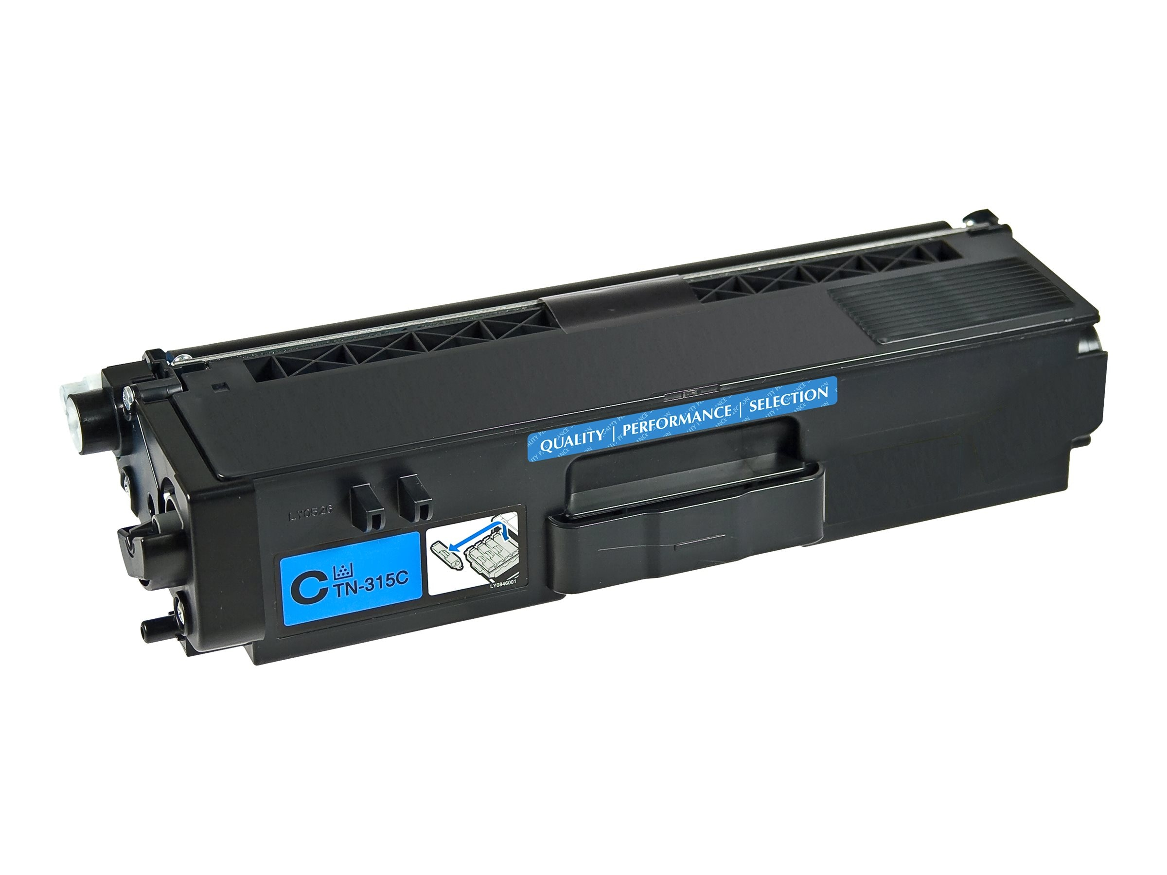 V7 TN315C Cyan High Yield Toner Cartridge for Brother