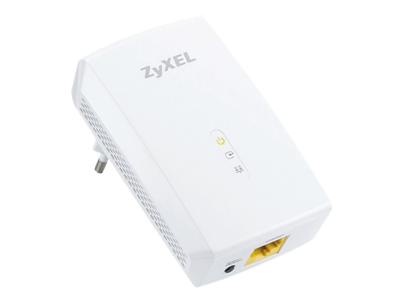 Zyxel 1000 Mbps Powerline Gigabit Ethernet Adapter, PLA5206, 17832057, Network Adapters & NICs
