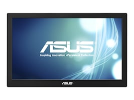 Asus 15.6 MB168B Portable LED-LCD Monitor, Black, MB168B, 16294349, Monitors