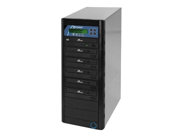 Microboards CopyWriter LightScribe 1:5 Tower Duplicator, LSDVDPRMPRO05, 9159131, Disc Duplicators