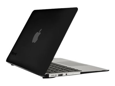 Speck SeeThru Satin Soft Touch Hard Shell Case for MacBook Air 11, Black, SPK-A2713, 18217611, Carrying Cases - Notebook