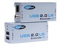 Gefen USB 2.0 over Cat5 Extender Receiver, EXT-USB2.0-LR, 9456442, Network Extenders