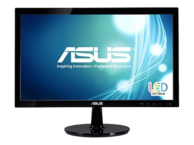 Asus 20 VS208N-P Widescreen LED Monitor, VS208N-P, 13099003, Monitors - LED-LCD