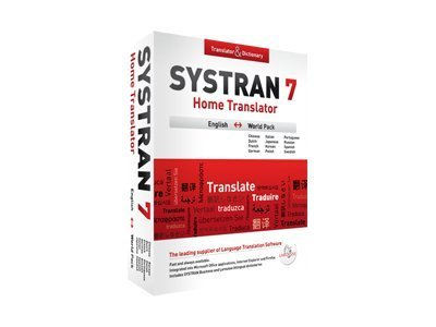 Systran 7.0 Home World  Full Version, H7-1-EN-W-DVD, 13035691, Software - Foreign Language & Translation