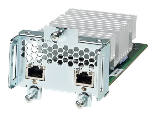 Cisco 2-Port Channelized T1 E1 & PRI GRWIC Data Only, GRWIC-2CE1T1-PRI