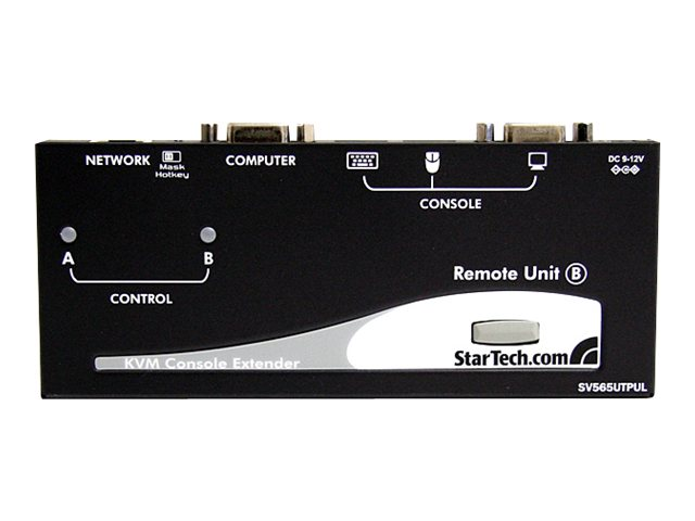 StarTech.com Long Range USB VGA KVM Console Extender over Cat5 UTP - 1000 ft, SV565UTPUL