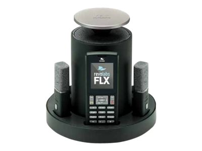 Revolabs FLX2 VOIP SIP Wireless Conference Phone System with 2 Wearable Microphones- Pre-Order Now!, 10-FLX2-002-VOIP