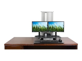 Ergotech One Touch Free Stand Sit-Stand Workstation, 700-FREE-G, 18791171, Stands & Mounts - AV