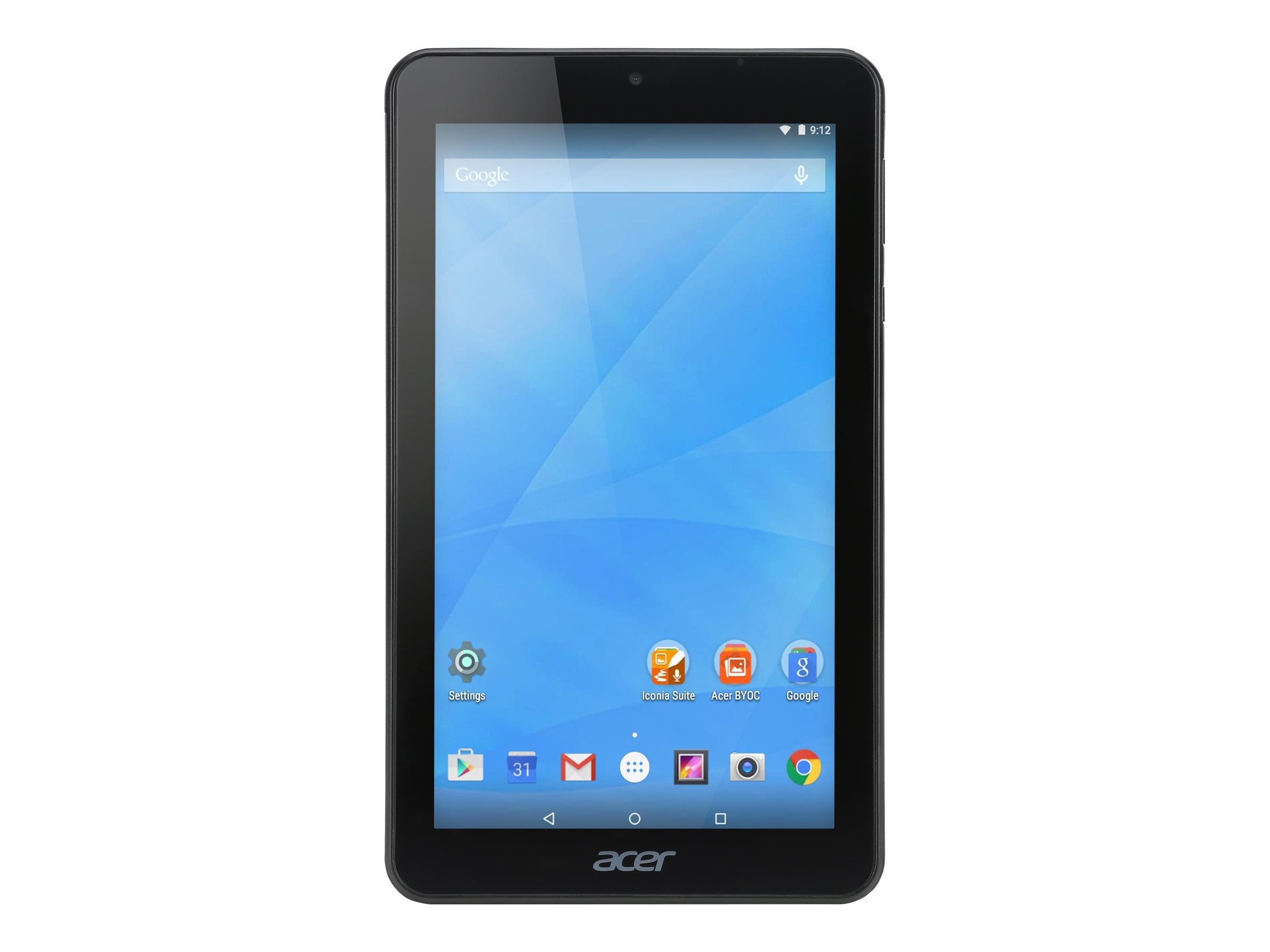 Acer Iconia B1-770-K3RC MT8127 1.3GHz 1GB 16GB bgn BT 2xWC 1C 7 WSVGA MT Android 5.0 Black