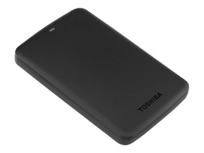 Toshiba 500GB Canvio Basics USB 3.0 Portable Hard Drive - Black, HDTB305XK3AA, 18105732, Hard Drives - External