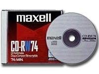 Maxell CD-RW 700MB 80 Minute (1 Disc)