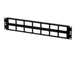 Kendall Howard 2U Cable Routing Blank, 1902-1-002-02A, 8262283, Rack Cable Management