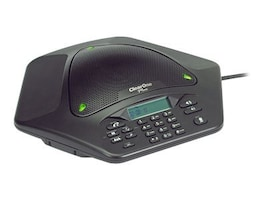 ClearOne MAX EX Wired Expandable Tabletop Conferencing Phone - US Version, 910-158-500, 6236364, Phone Accessories