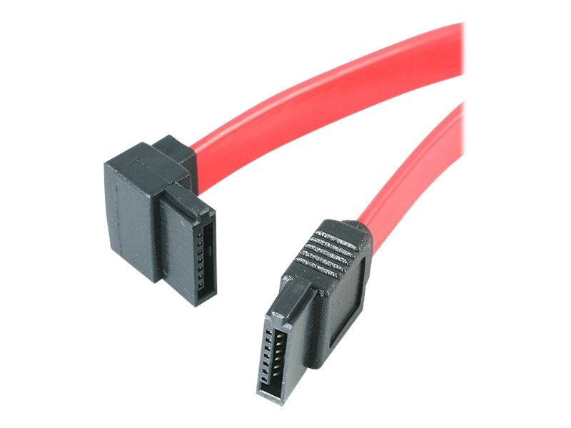 StarTech.com 12 SATA to Left-Angle ATA Cable