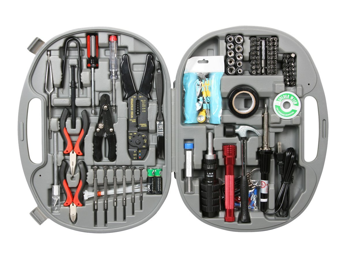 Rosewill 146 Piece Network PC Service Kit Tools w Blowing Case