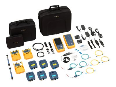 Fluke OptiFiber Pro and CertiFiber Pro Singlemode Kit with Inspection