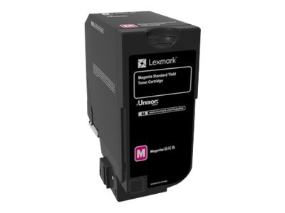 Lexmark Magenta Standard Yield Toner Cartridge for CS720 Series
