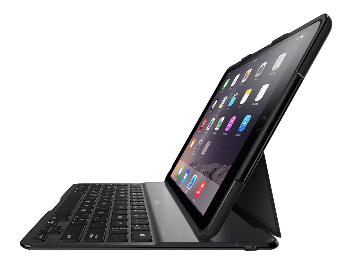 Belkin QODE Ultimate Keyboard Case for iPad Air 2, Black, F5L178TTBLK, 18373534, Keyboards & Keypads