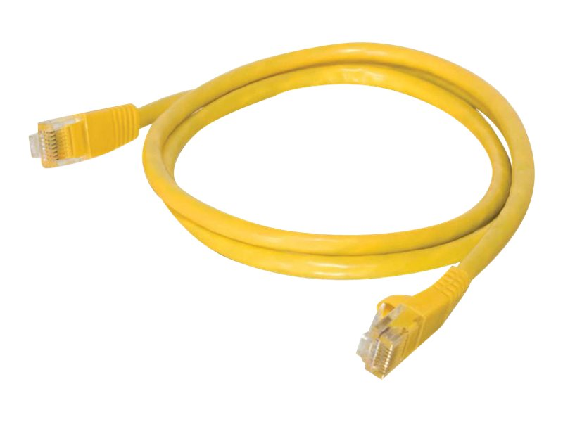 C2G Cat5e Snagless Unshielded (UTP) Network Patch Cable - Yellow, 2ft