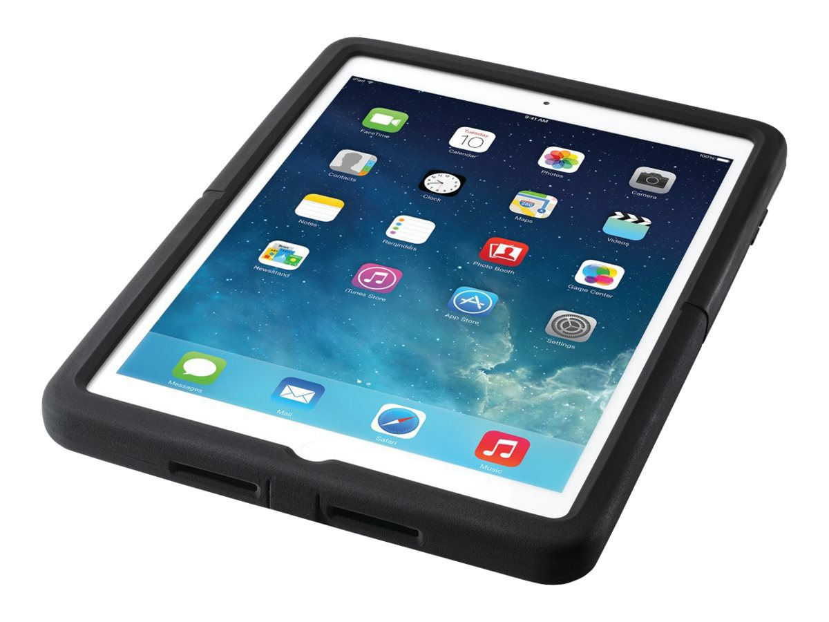 Kensington SecureBack M Series Rugged Case Enclosure for iPad Air, Black