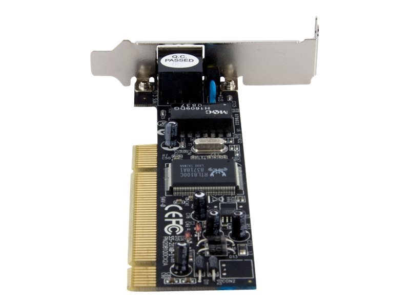 StarTech.com Low Profile PCI 10 100 Ethernet Card, ST100SLP