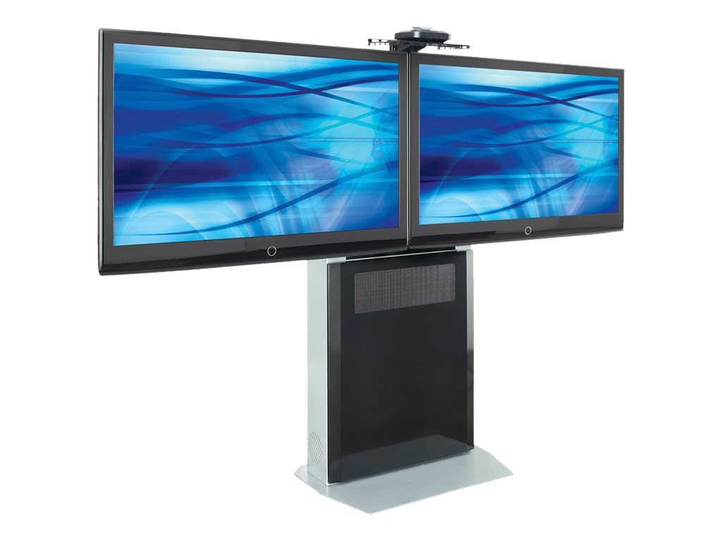 Avteq Videoconferencing Stand for Dual Displays up to 42