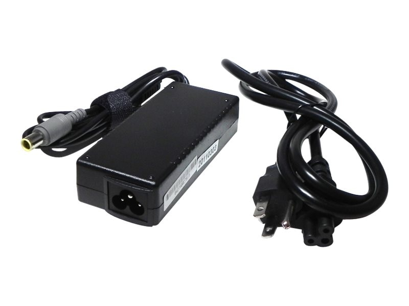 Ereplacements 65 Watt Adapter for Lenovo Thinkpad R60 E530, AC0657755YE-ER, 18447610, AC Power Adapters (external)