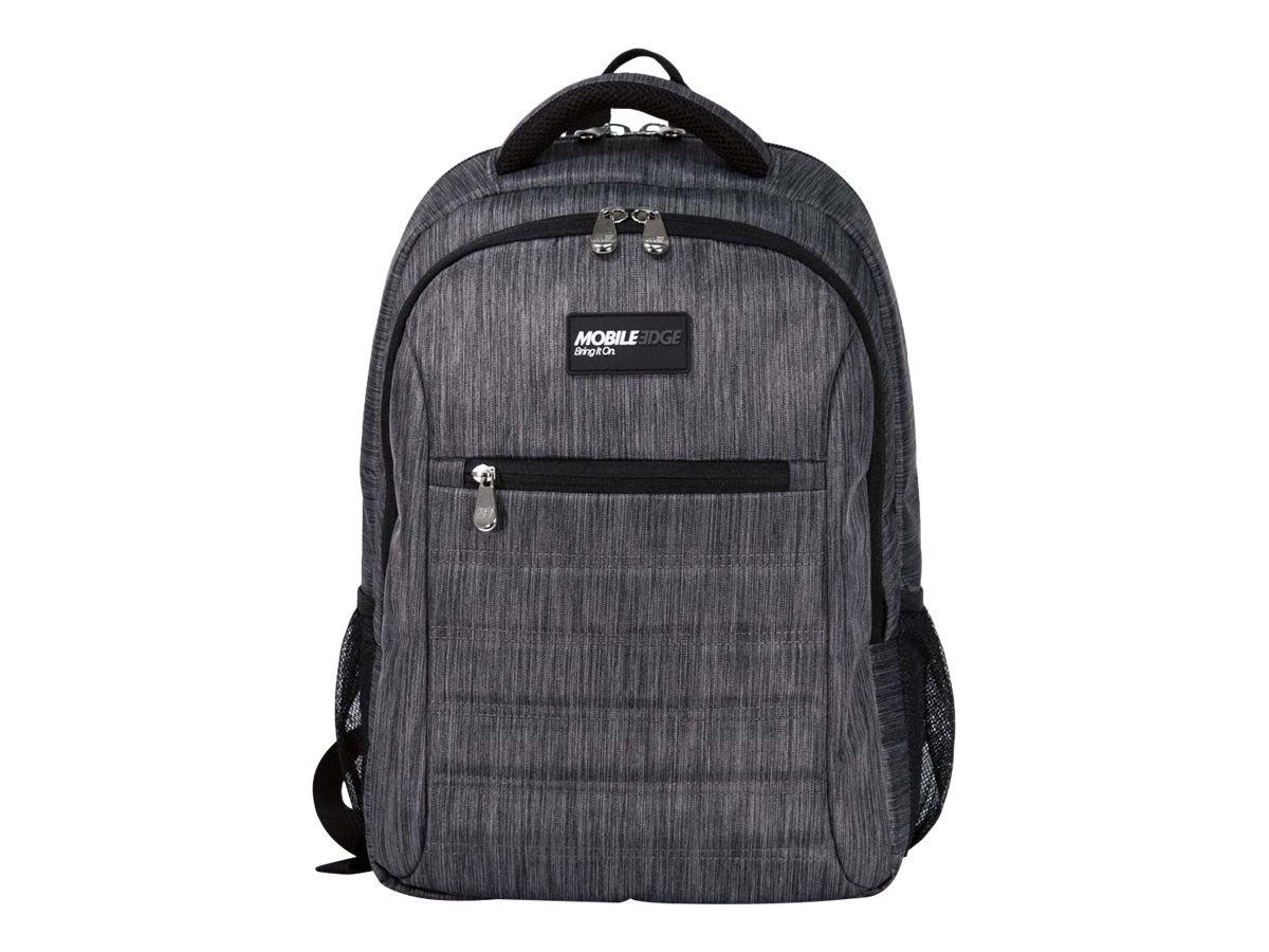 Mobile Edge SmartPack Backpack for 16 PC, 17 Mac, Carbon