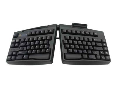 Ergoguys SC 2.0 GoldTouch Ergonomic Smart Card Keyboard - Black, GTS-0077, 7679520, Keyboards & Keypads