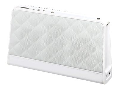 Audiovox AR Fashion BT Speaker - White, ARS140QTWH, 30933160, Speakers - Audio